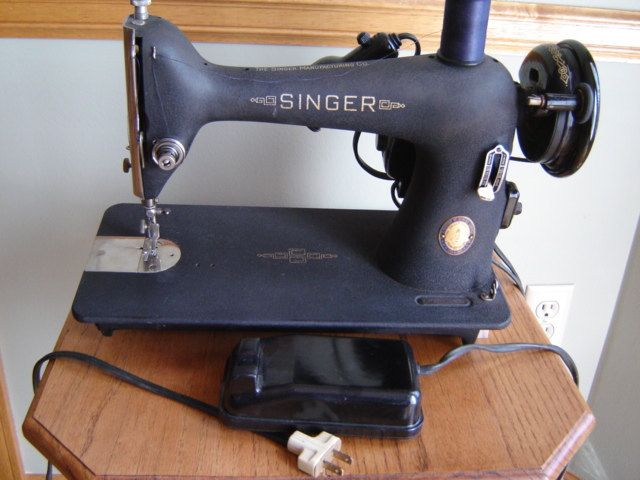 Singer Model 4040 BlacksmithingLeather CraftingFabrication Stunning Singer Sewing Machine Model 66 18