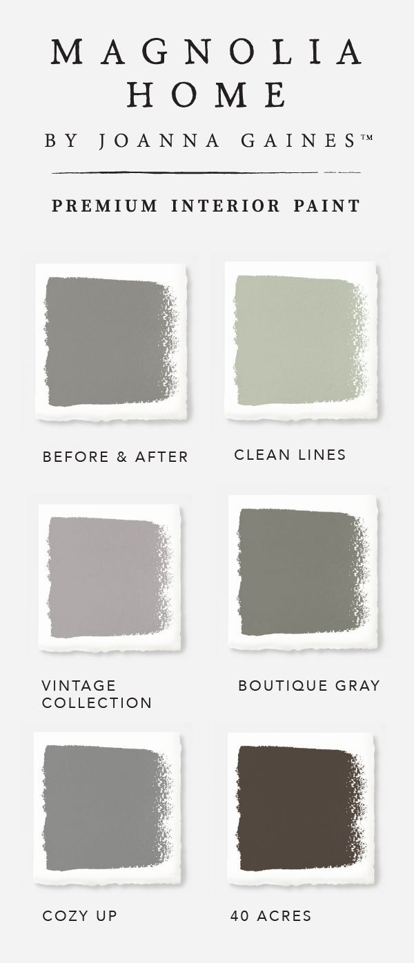 There's no such thing as just one shade of gray in designer Joanna Gaines'  Magnolia