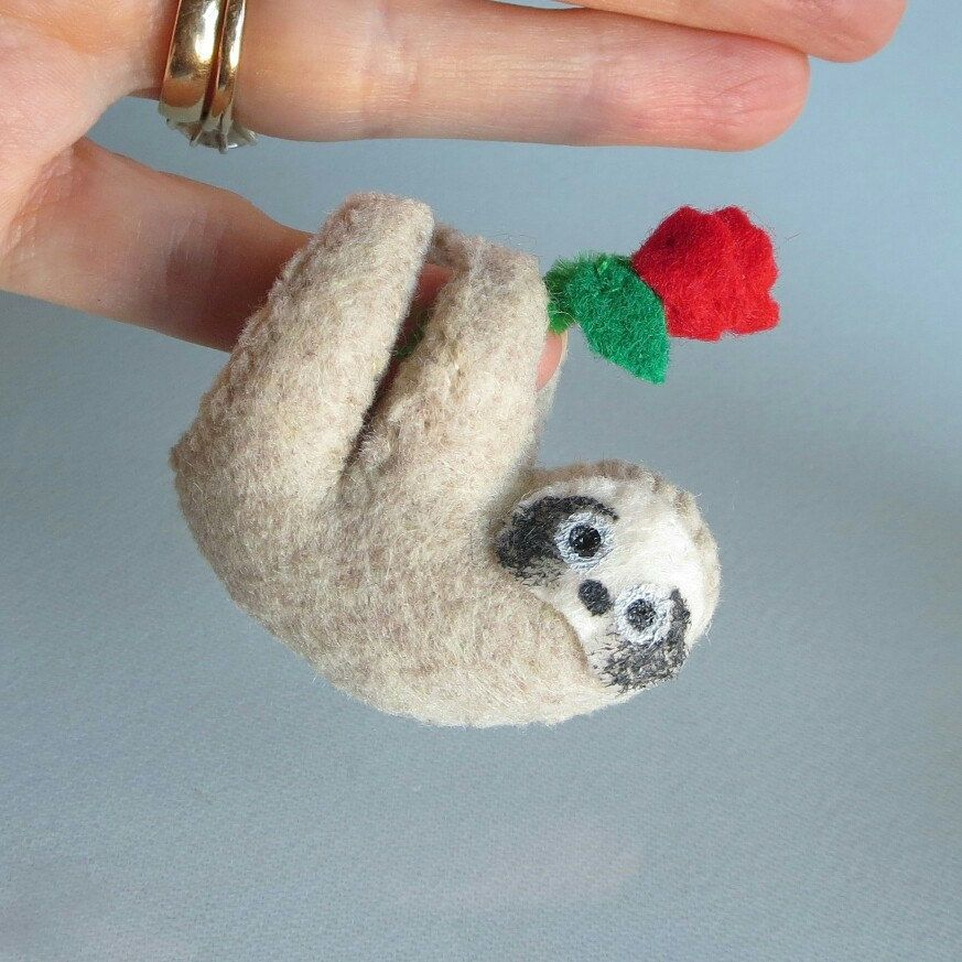 I love you sloth sloth wishwithme valentine gifts