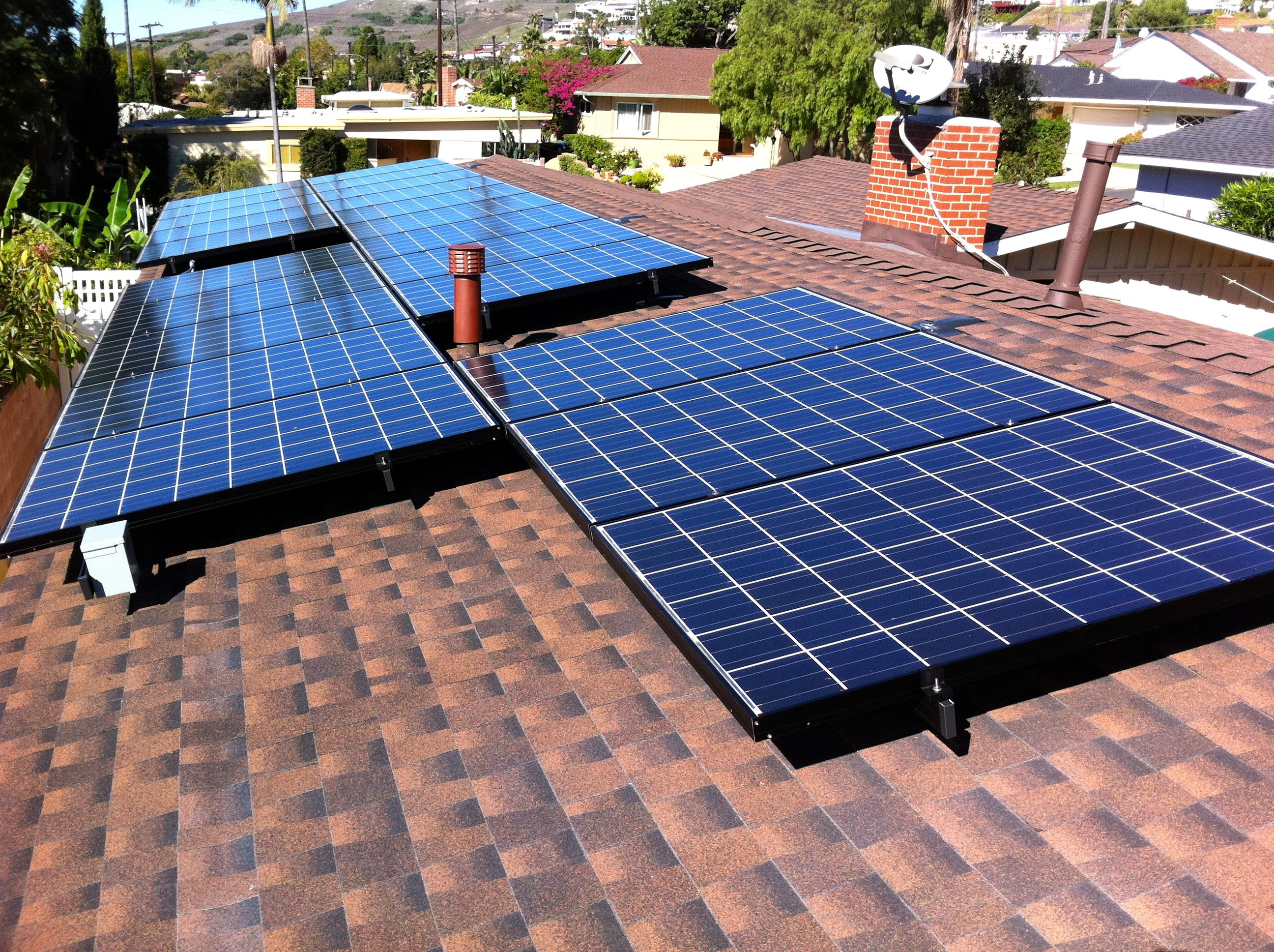 Best Solarcity Panel System Installed With A New Gaf Timberline 400 x 300
