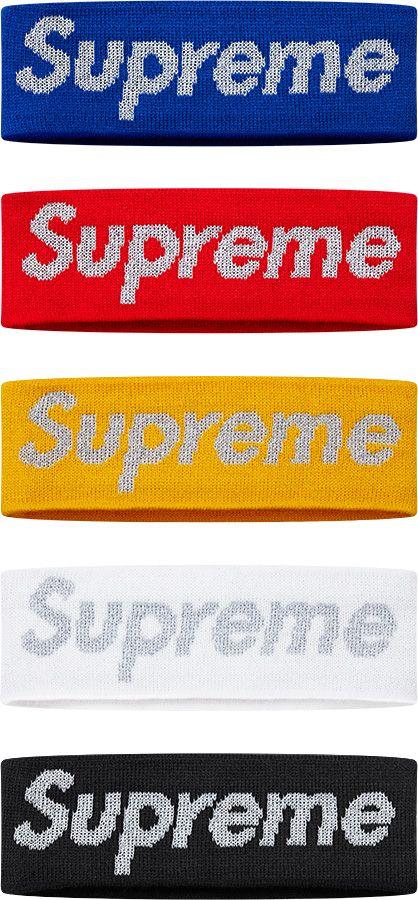 first rate 32147 7c7bc Supreme New Era® Reflective Logo Headband