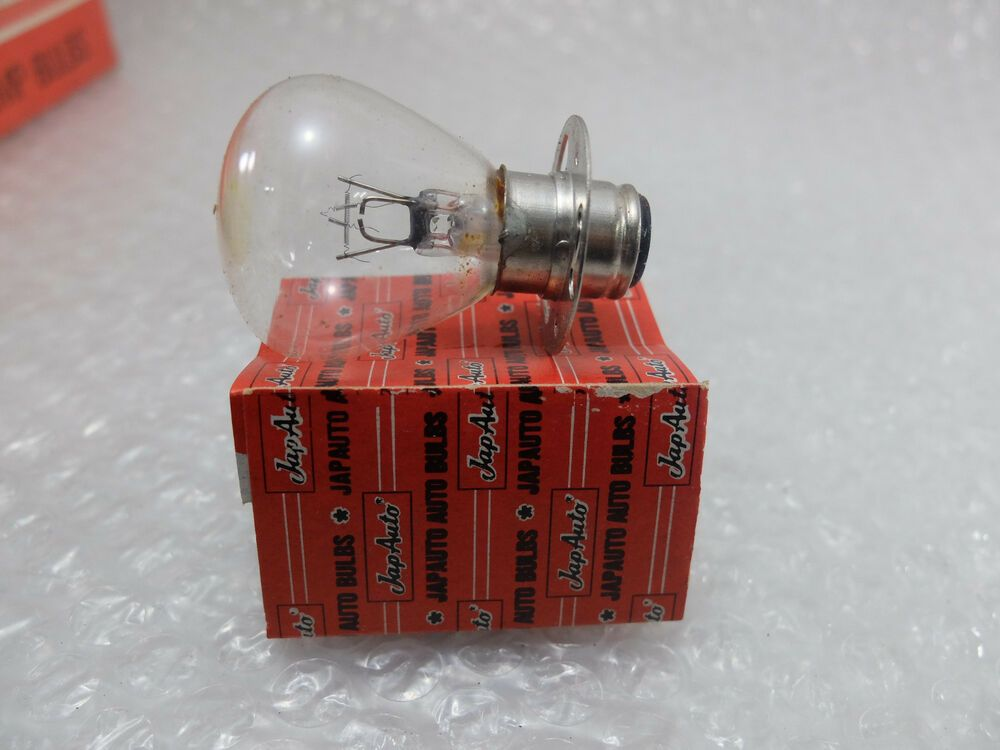 Nos Vintage Auto Headlight Light Lamp Bulb 12v 25 25w A5677 Nos