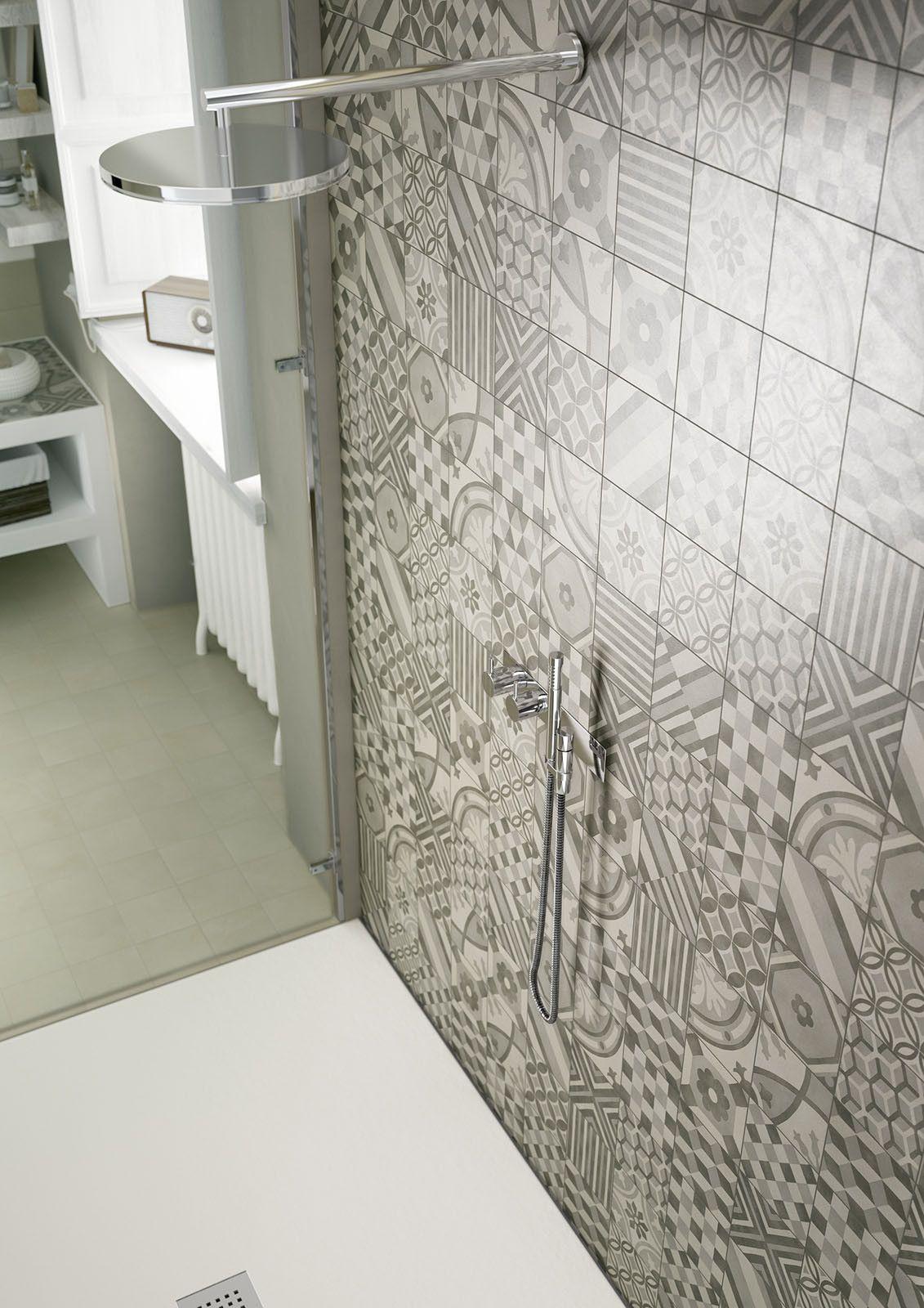 Marazzi #Block Dekor Grey 15x15 cm MH93 | #Feinsteinzeug #Dekore ...