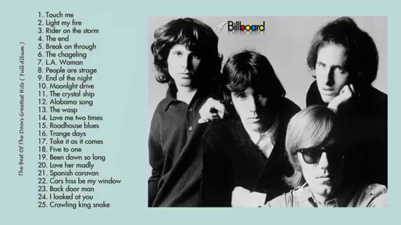 The Doors\u0027s Greatest Hits ☆ Best Songs Collection Of The Doors+ ♫  sc 1 st  Pinterest : the doors songs - pezcame.com