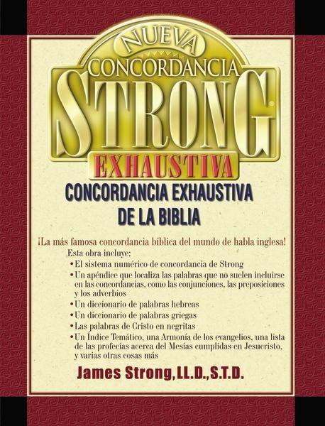 Nueva Concordancia Strong Exhaustiva De La Biblia Biblia Libros