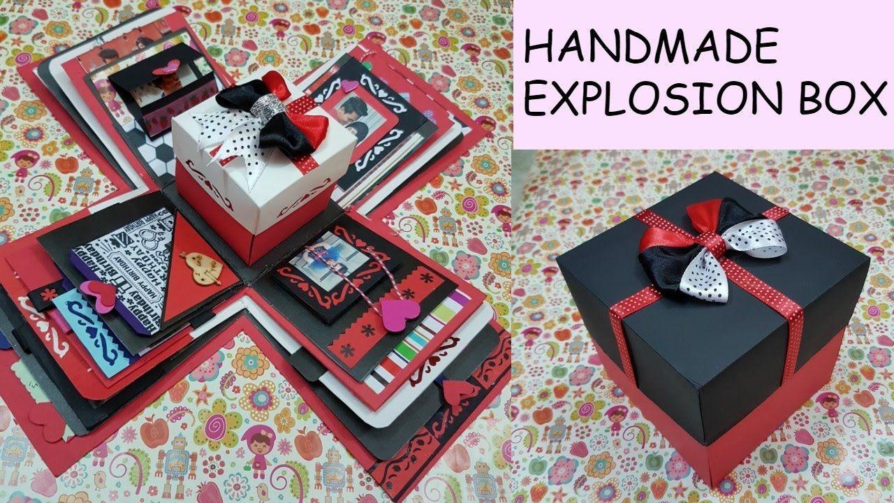 Gift ideaexplosion box for friendsurprize boxbirthday