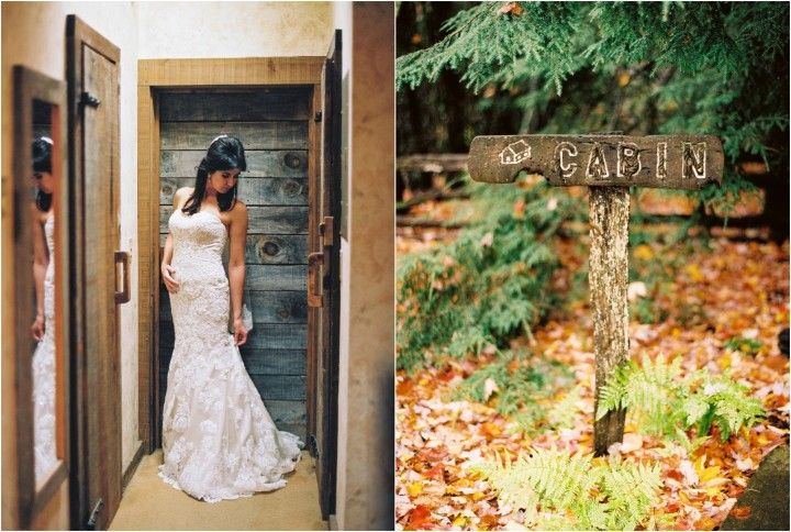 Beautiful Fall Destination Wedding At The Swag Inn In Waynesville Nc