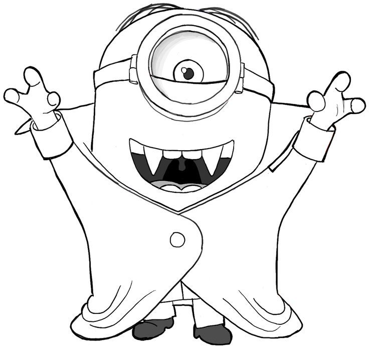 Download #coloring #despicable #halloween #me #pages #2020 Check more at https://mister-twister.club ...