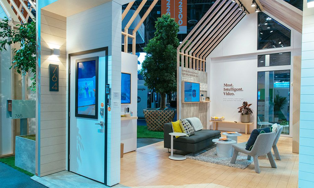 Explore the Vivint Smart Home Booth at CES 2018 Home