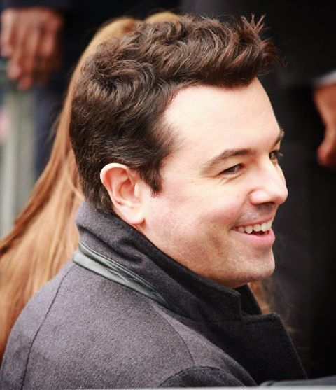 That smile and hair.... ❤ #SethMacFarlane