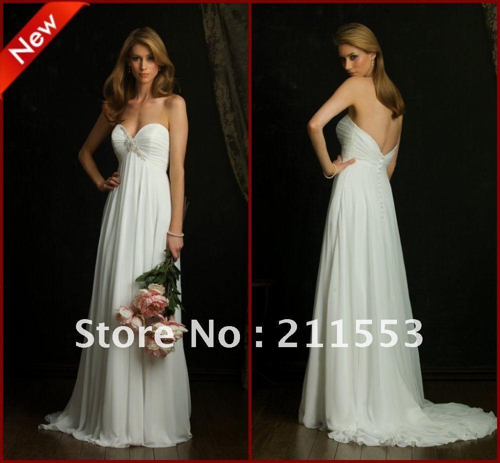40% OFF Strapless Sweetheart Neckline Empire Maternity Wedding Dress Designer