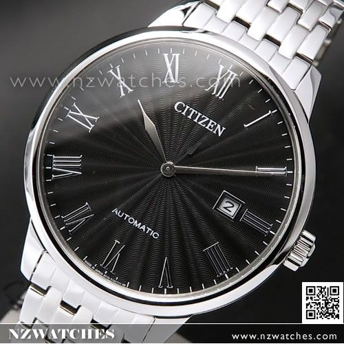 Citizen Mechanical Automatic Sapphire Mens Dress Watch NJ0080-50E ... d14120a89
