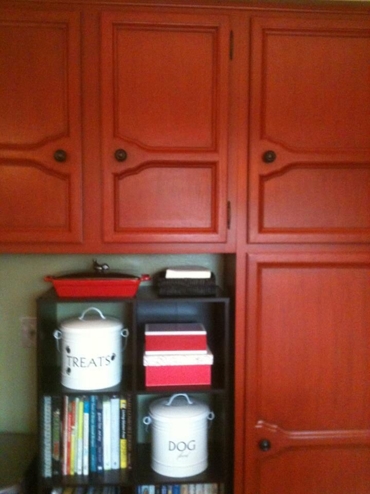 Cabinets After Rust O Leum Cabinet Transformation Kit