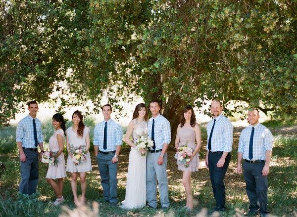 DIY California Park Wedding