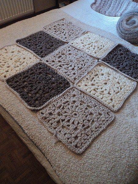 plaid xxl crochet | CROCHET : DECORATION, PLAIDS,COUSSINS, TAPIS ...