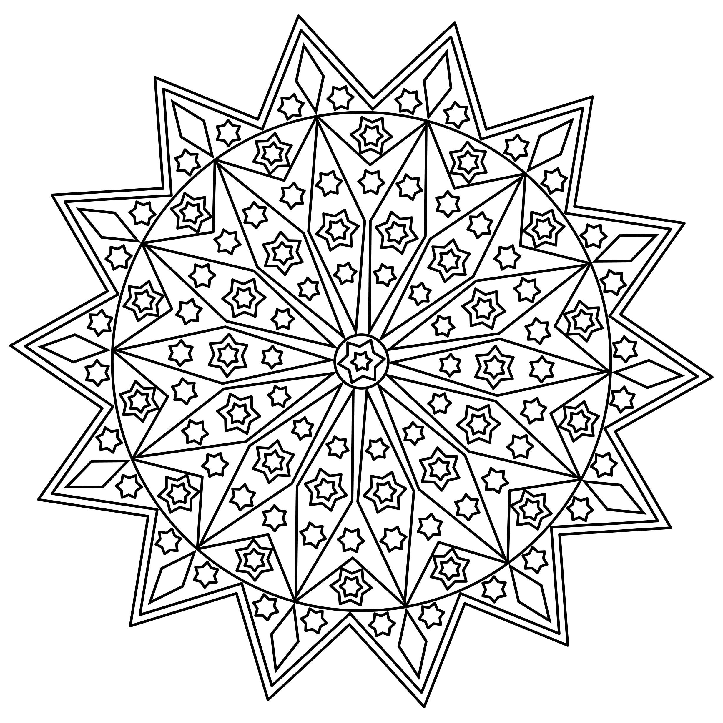An Image From Patty S New Mandala Coloring Pages Book Available On