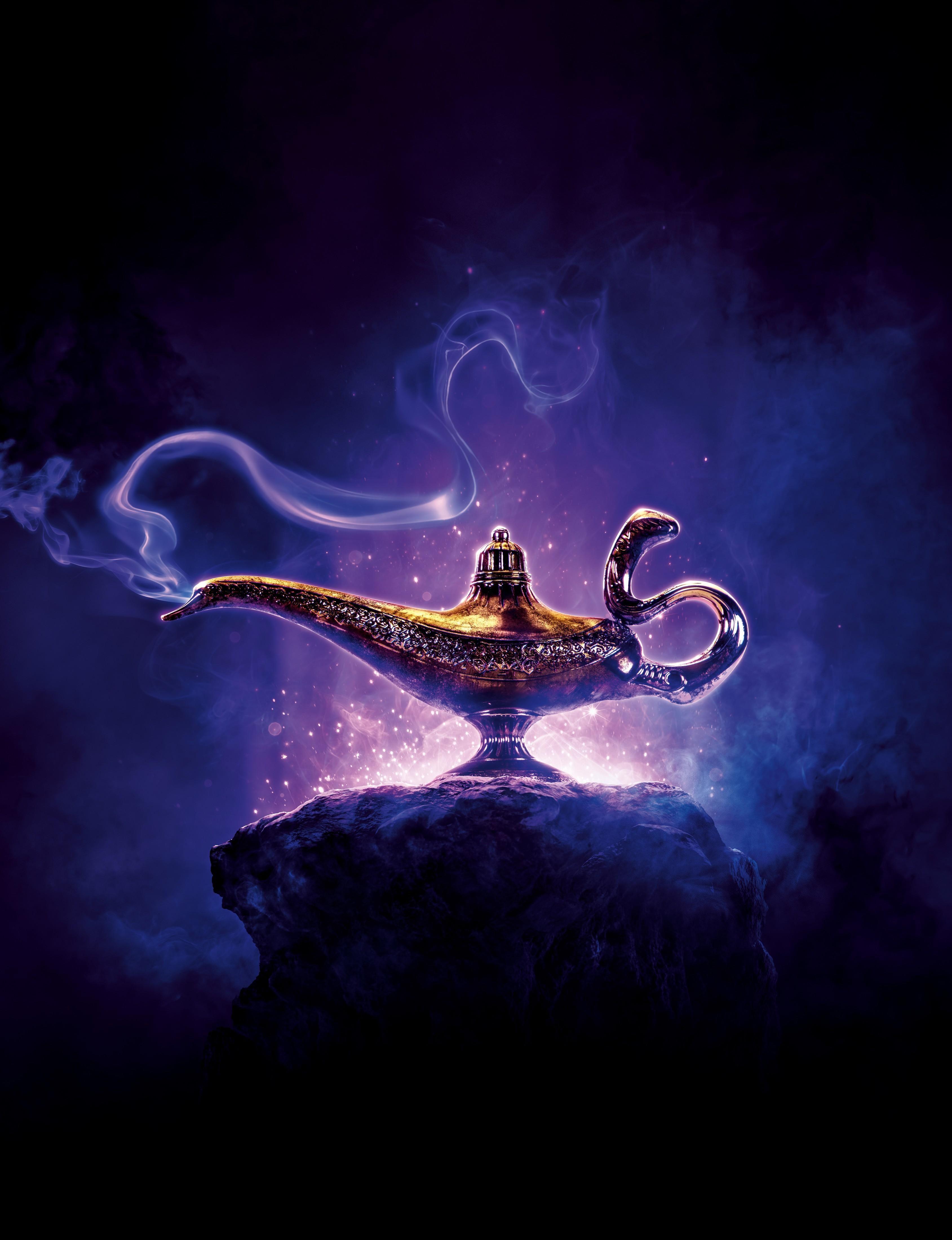 Wallpaper Aladdin, Disney, 2019, 4k, Movies, 16270
