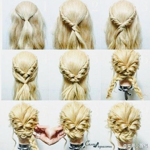 Pin Von Karen Schmitz Auf Hair Frisuren Haarfrisuren Hochzeitsfrisuren Geflochten