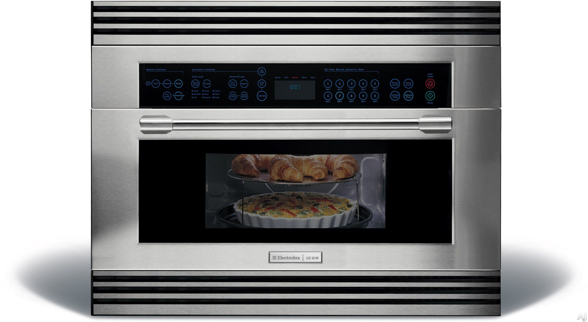 Electrolux E30so75fps 30 High Sd Oven With 1 Cu Ft Convection 1000 Watts Manual Clean And Gl Wave Touch Controls
