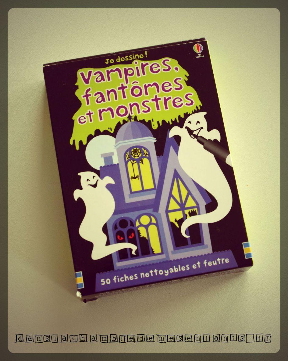 Vampires Fantomes Et Monstres Je Dessine Les Livres