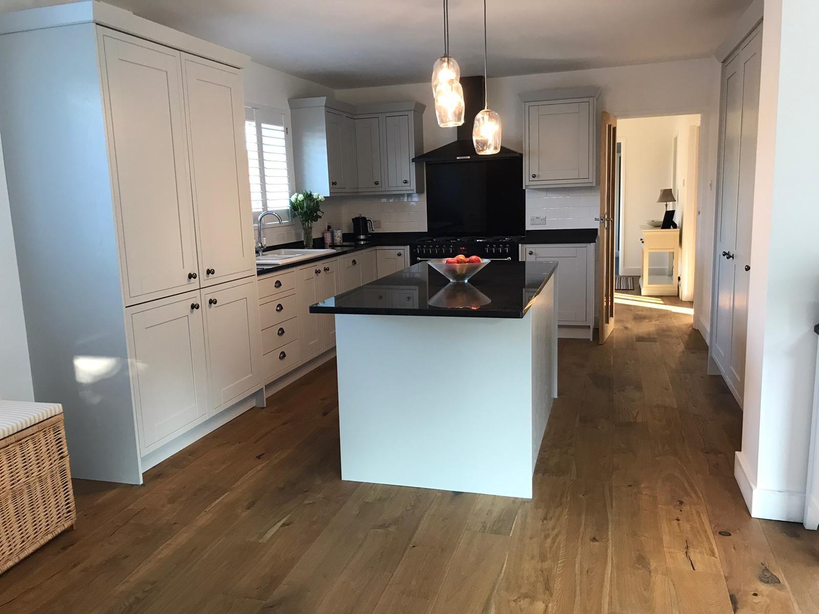 We supplied & fitted this Oak floor alongside underfloor ...