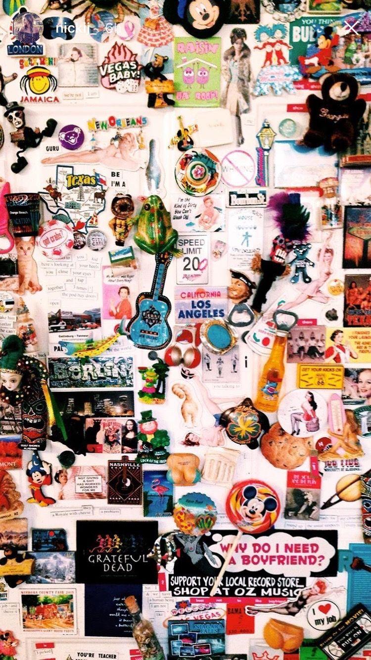 Pin By Meghan Harrington On Room Collage Cartoon Wallpaper
