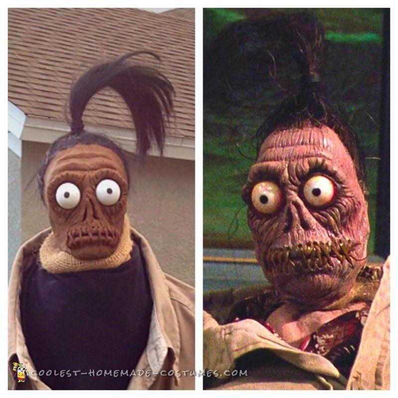 Beetlejuice Shrunken Head Man Costume #halloweencostumesformen