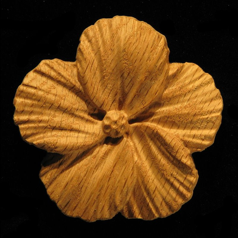 A Hibiscus Flower Onlay With A Bit Of A Natural Look Available In A