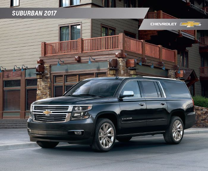 Downloadable 2017 Chevrolet Suburban Brochure Chevrolet Suburban