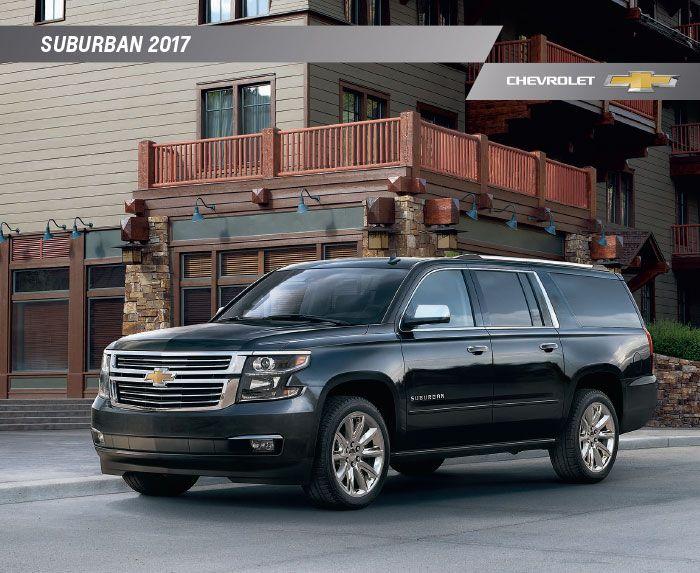 2017 Chevrolet Suburban Brochure Download Chevrolet Suburban