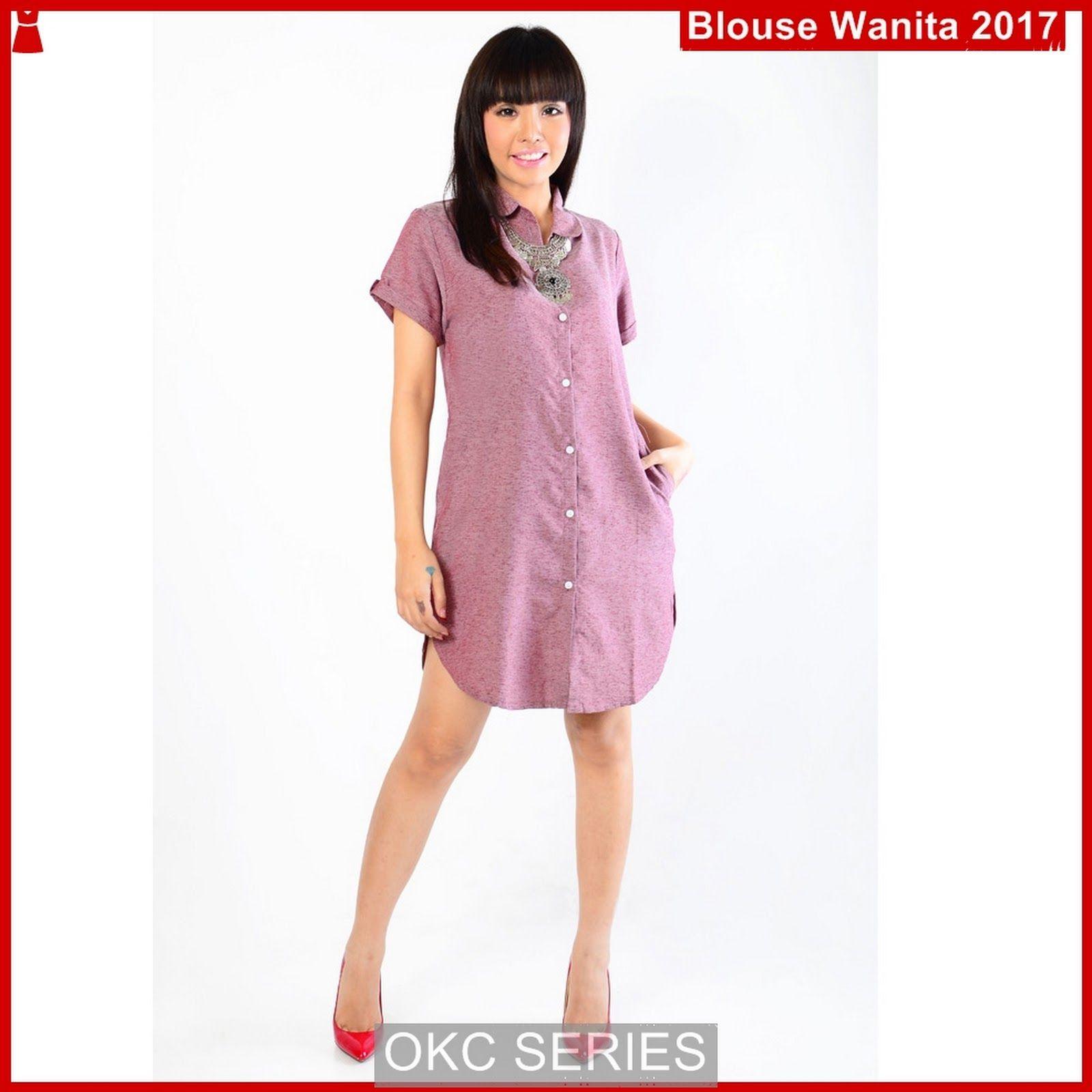 Atasan Wanita Terbaru Model c7ock baju tunik blouse rena wanita BMGShop