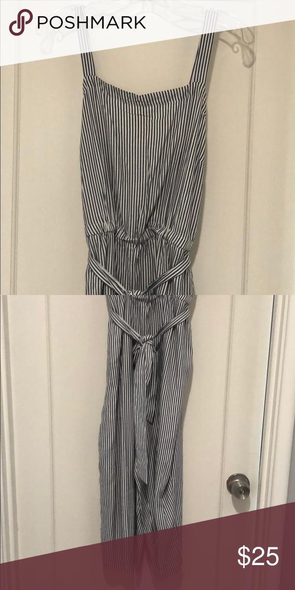 Striped Jumpsuit In 2018 My Posh Closet Pinterest Striped