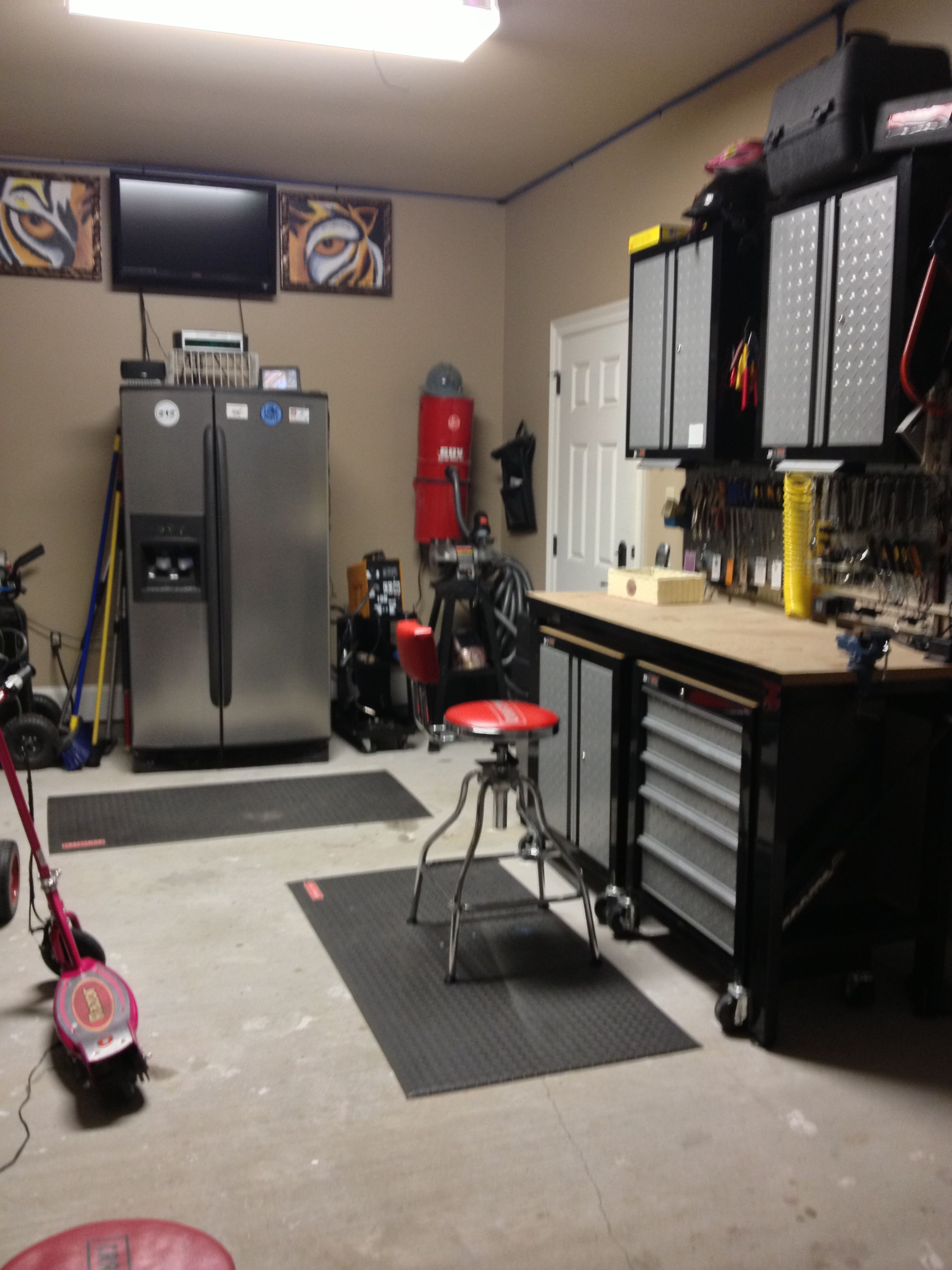Man Cave Store Wilsonville : David s shop man cave for in his gun room he can have