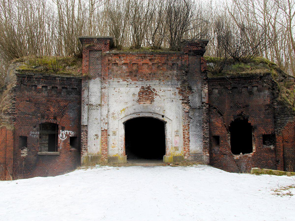 Вход в форт № 8 Король Фридрих I