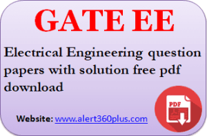 Gate Ee Question Papers With Solution 2018 Question Paper This Or That Questions Electrical Engineering