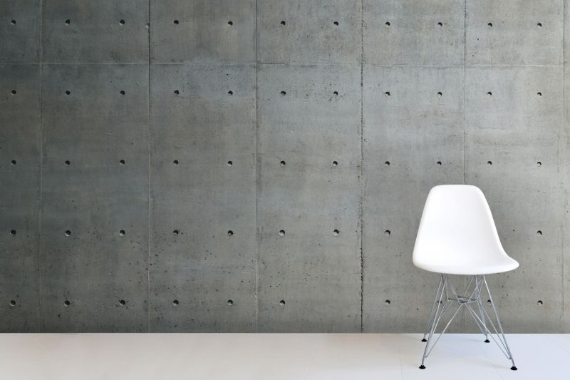 Bare concrete wall wallpaper mural concrete walls wall How to finish a concrete wall