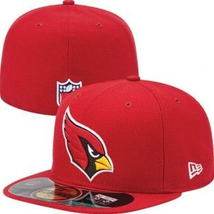 d83c6c2390b3 Arizona Cardinals Official NFL On Field 59Fifty New Era Hat (Red ...
