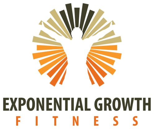 Exponential Growth Fitness Logo