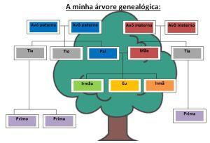 Como E A Tua Arvore Genealogica Vamos Aprender O Vocabulario