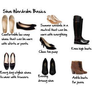 Basic shoe wardrobe
