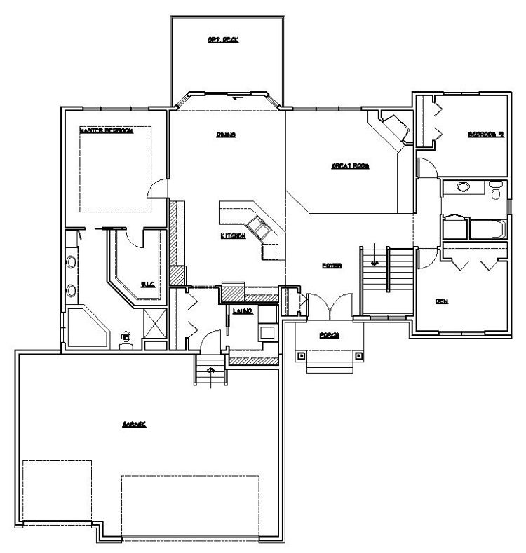 1000 images about ranch style house plans on Pinterest House