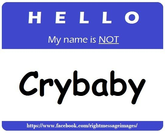 Public Domain  C B Original Pin Hello My Name Is Not Crybaby With Url