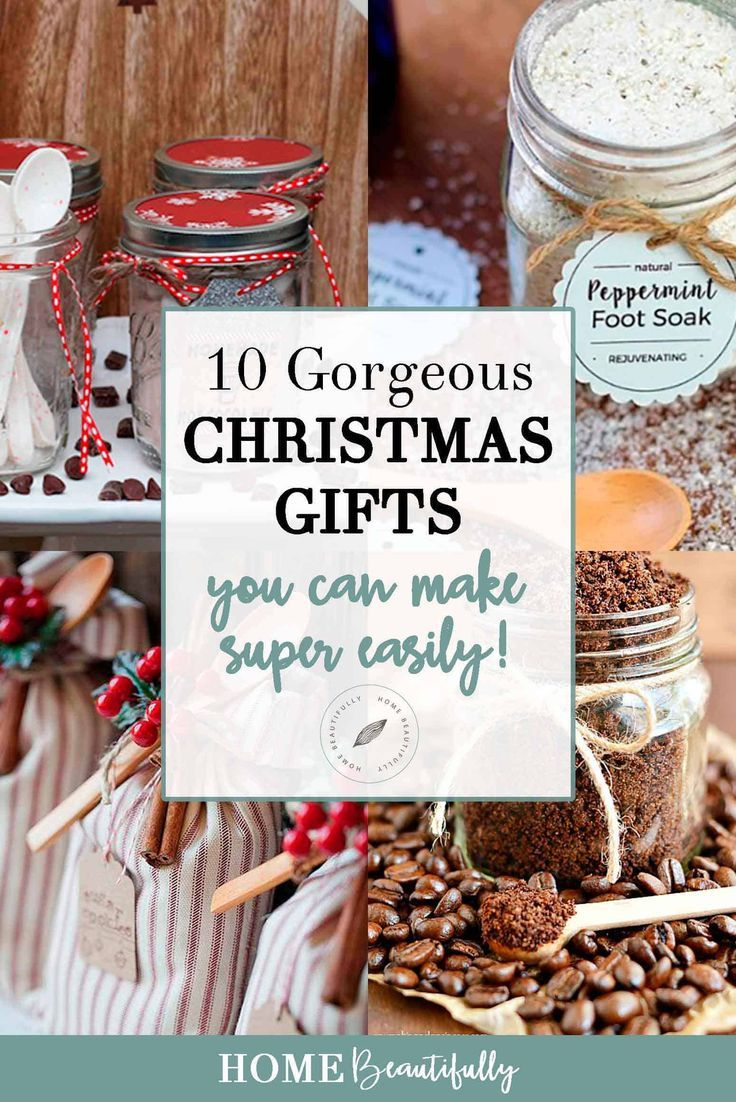 10 Easy, Affordable DIY Christmas Gifts You Can Make Today | DIY ...
