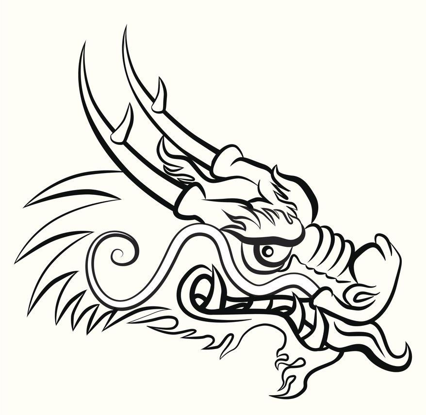 dragon chino para colorear - Buscar con Google | mis sueños ...
