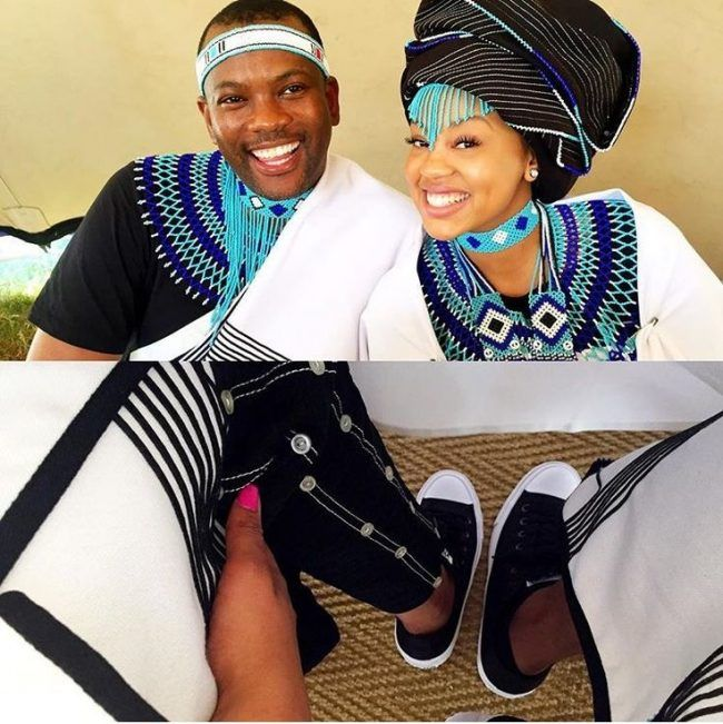 Xhosa Couple. Xhosa Couple African Wedding Attire