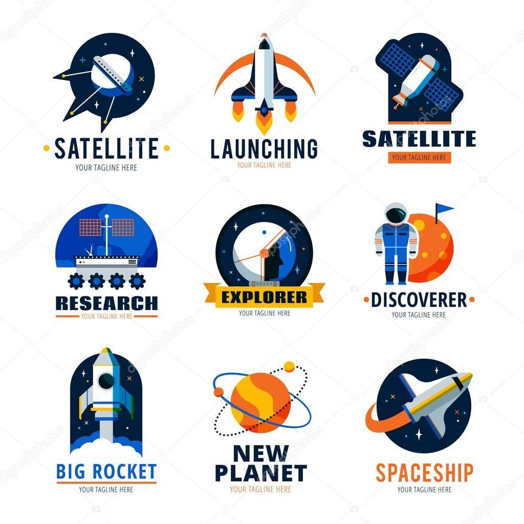 space logo Google 搜尋 Emblem logo, American flag