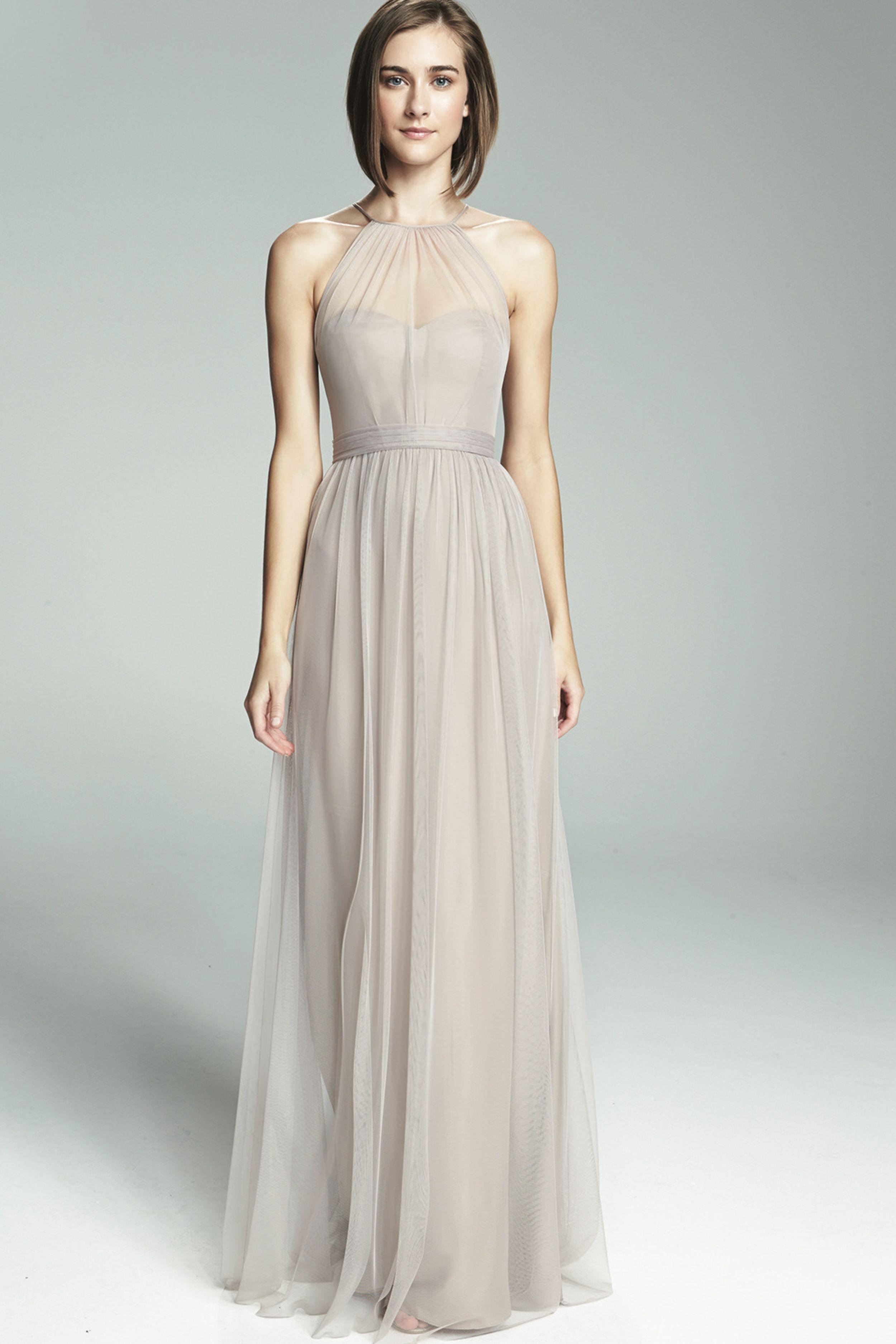 Amsale Tulle Bridesmaid Dresses