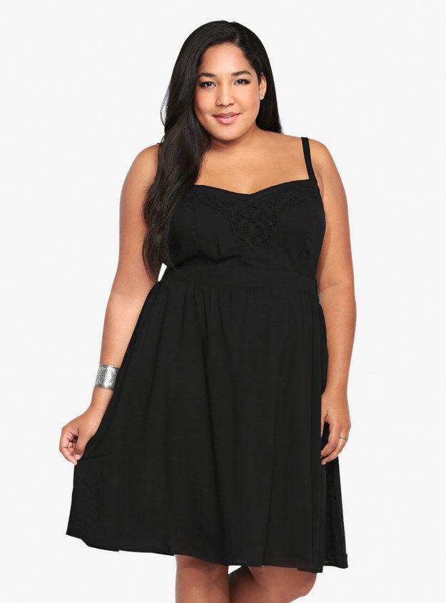 27 Fabulous Plus Size Little Black Dresses Under 50 Torrid Tank