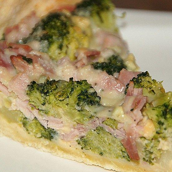 Brokkoli - Schinken - Quiche von Hornie | Chefkoch