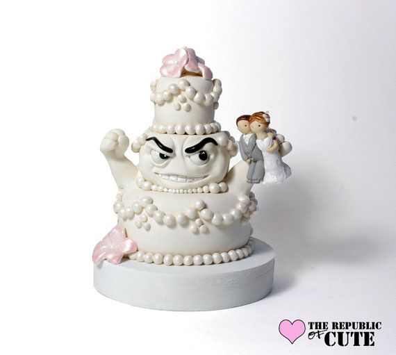 craziest wedding cake toppers awesome custom cakezilla wedding cake topper 13040